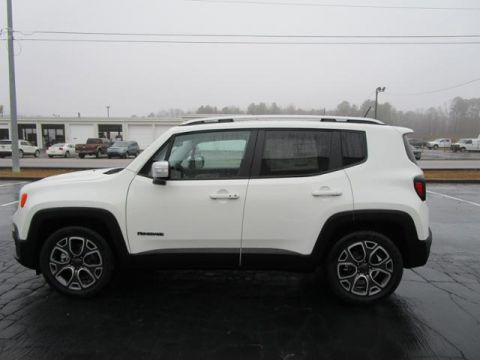 New 2017 JEEP Renegade Limited FWD
